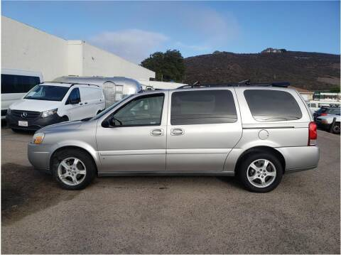 2006 Chevrolet Uplander for sale at Dealers Choice Inc in Farmersville CA