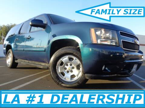 2007 Chevrolet Suburban for sale at ALL STAR TRUCKS INC in Los Angeles CA