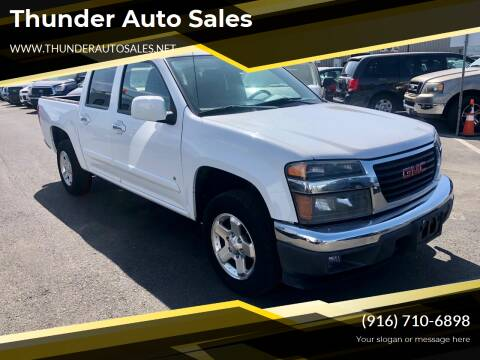 2009 GMC Canyon for sale at Thunder Auto Sales in Sacramento CA