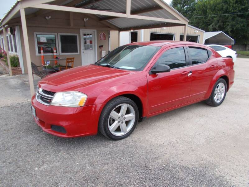 2013 Dodge Avenger for sale at DISCOUNT AUTOS in Cibolo TX