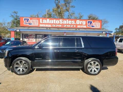 2015 GMC Yukon XL for sale at LA Auto Sales in Monroe LA