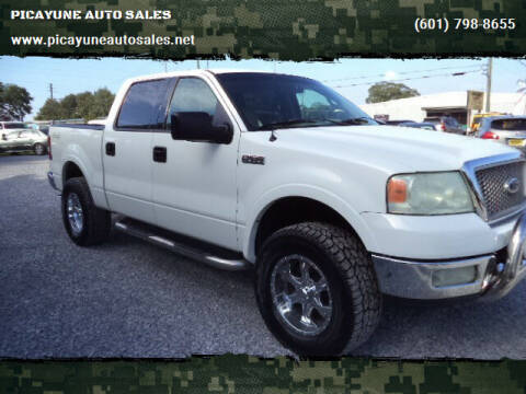2004 Ford F-150 for sale at PICAYUNE AUTO SALES in Picayune MS