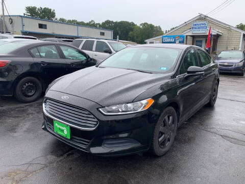 2013 Ford Fusion for sale at Irving Auto Sales in Whitman MA