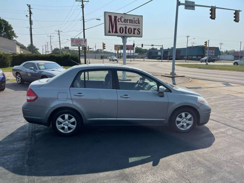 2007 Nissan Versa for sale at McCormick Motors in Decatur IL