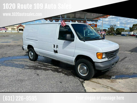 2006 Ford E-Series Cargo for sale at 1020 Route 109 Auto Sales in Lindenhurst NY