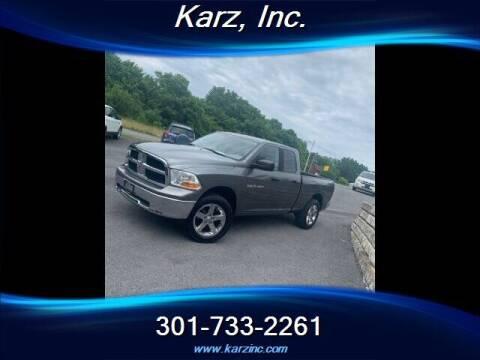 2011 RAM Ram Pickup 1500 for sale at Karz INC in Funkstown MD