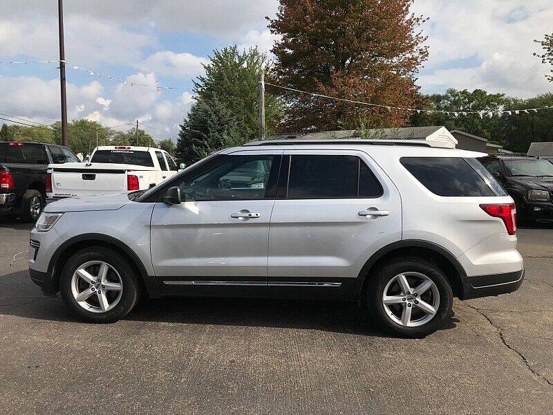 2018 Ford Explorer for sale at Car Zone in Otsego MI