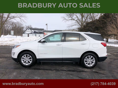 2020 Chevrolet Equinox for sale at BRADBURY AUTO SALES in Gibson City IL