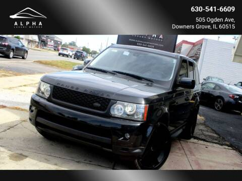 2010 Land Rover Range Rover Sport for sale at Alpha Luxury Motors in Downers Grove IL