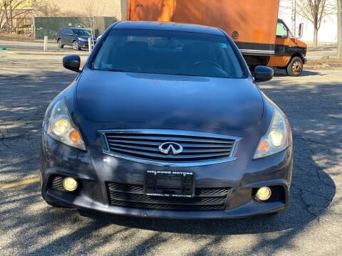 2010 Infiniti G37 Sedan for sale at Welcome Motors LLC in Haverhill MA