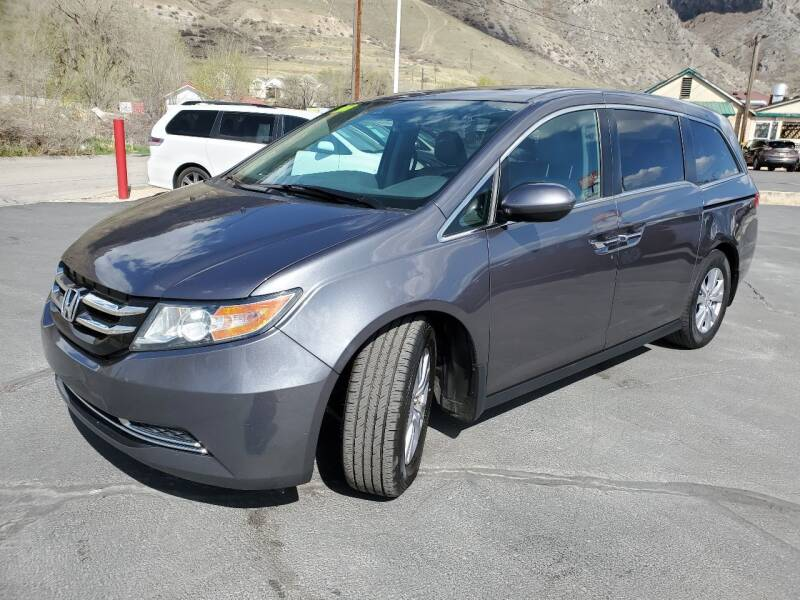 2016 Honda Odyssey for sale at Firehouse Auto Sales in Springville UT
