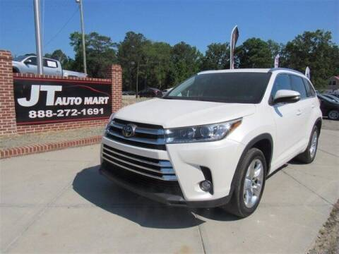 2018 Toyota Highlander for sale at J T Auto Group in Sanford NC