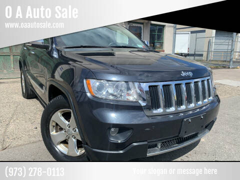 2012 Jeep Grand Cherokee for sale at O A Auto Sale in Paterson NJ