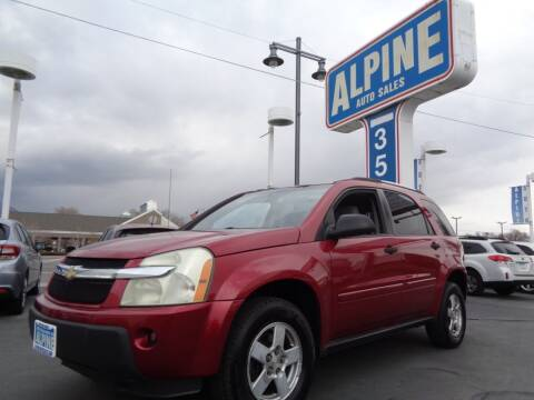 2005 Chevrolet Equinox for sale at Alpine Auto Sales in Salt Lake City UT