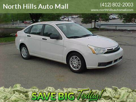 2009 Ford Focus for sale at North Hills Auto Mall in Pittsburgh PA