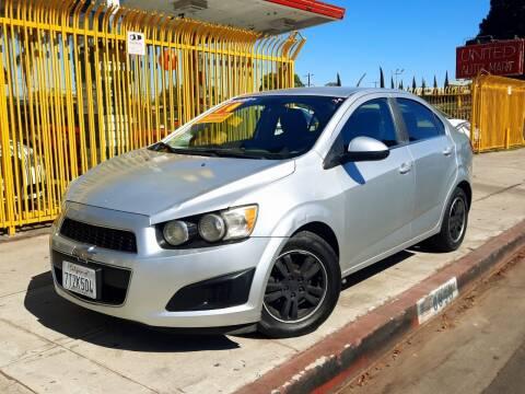 2014 Chevrolet Sonic for sale at UNITED AUTO MART CA in Arleta CA