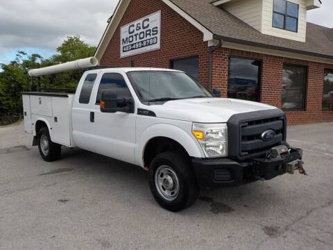 2012 Ford F-350 Super Duty for sale at C & C MOTORS in Chattanooga TN