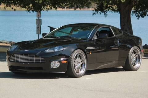 2003 Aston Martin V12 Vanquish for sale at Precious Metals in San Diego CA