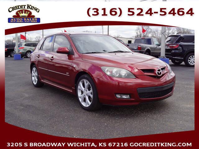 2008 Mazda MAZDA3 for sale at Credit King Auto Sales in Wichita KS
