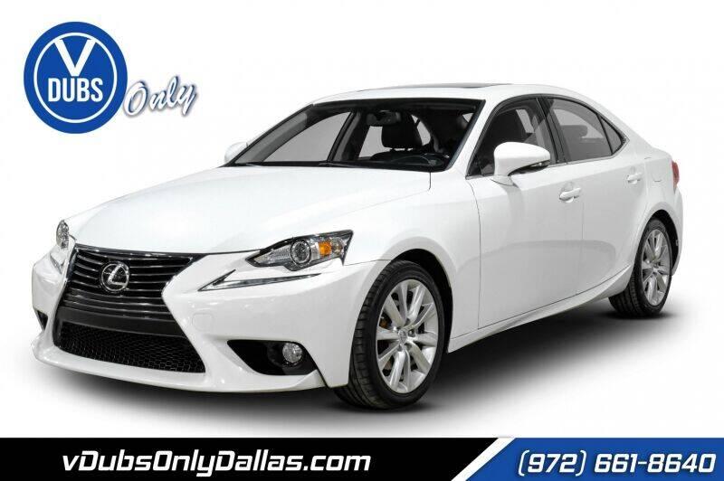 2014 Lexus IS 250 for sale in Dallas, TX