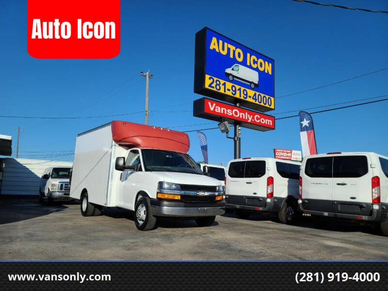 2017 Chevrolet Express Cutaway for sale at Auto Icon in Houston TX