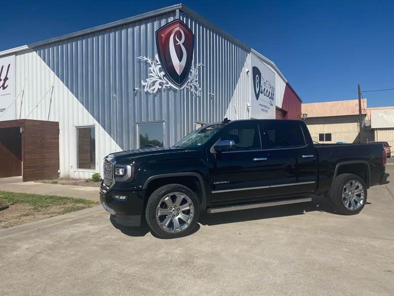 2018 GMC Sierra 1500 for sale at Barrett Auto Gallery in San Juan TX