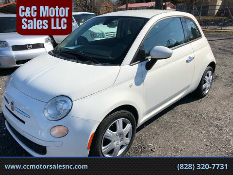 2013 FIAT 500 for sale at C&C Motor Sales LLC in Hudson NC