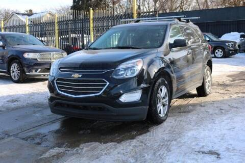 2016 Chevrolet Equinox for sale at F & M AUTO SALES in Detroit MI