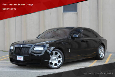 2012 Rolls-Royce Ghost for sale at Four Seasons Motor Group in Swampscott MA