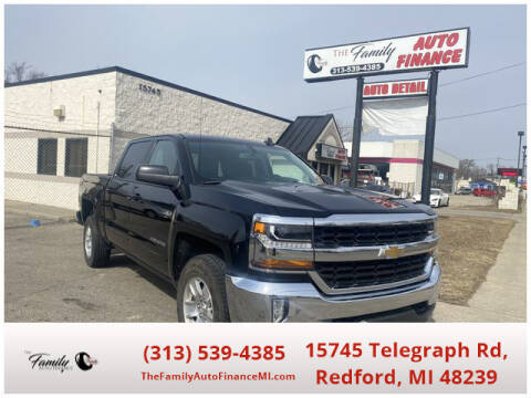 2017 Chevrolet Silverado 1500 for sale at The Family Auto Finance in Redford MI