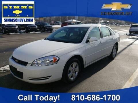 2008 Chevrolet Impala for sale at Aaron Adams @ Simms Chevrolet in Clio MI
