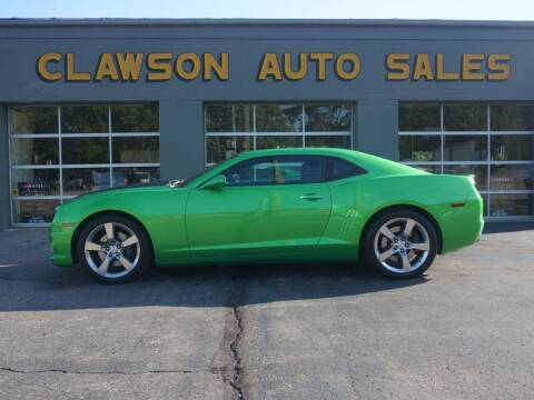 2011 Chevrolet Camaro for sale at Clawson Auto Sales in Clawson MI