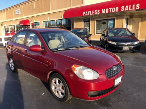 2008 Hyundai Accent for sale at Payless Motor Sales LLC in Burlington NC