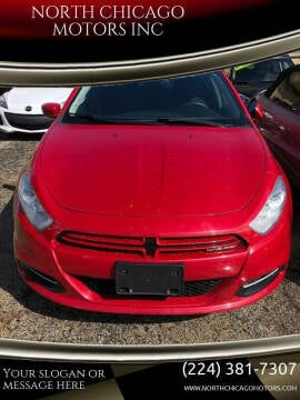 2013 Dodge Dart for sale at NORTH CHICAGO MOTORS INC in North Chicago IL