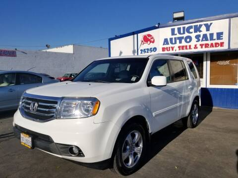 2014 Honda Pilot for sale at Lucky Auto Sale in Hayward CA