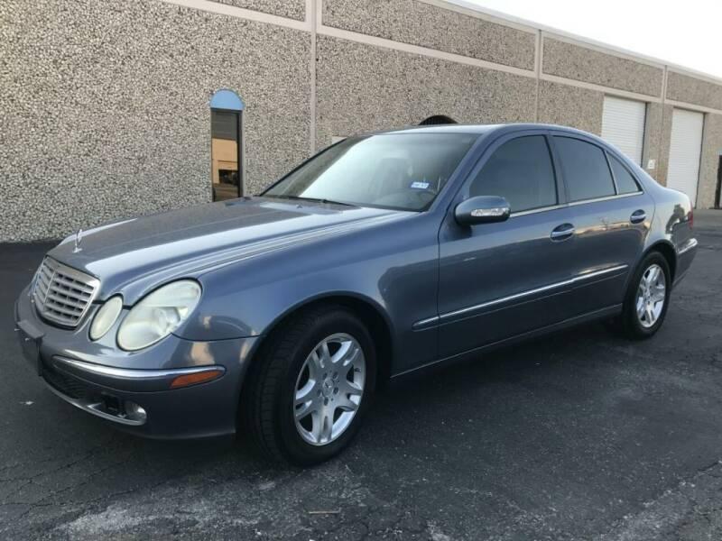 2005 Mercedes-Benz E-Class for sale at Evolution Motors LLC in Dallas TX