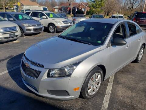 2012 Chevrolet Cruze for sale at Auto Choice in Belton MO