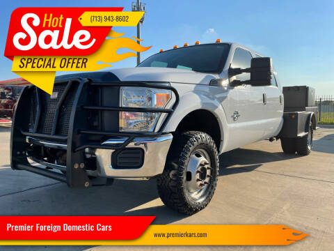 2012 Ford F-350 Super Duty for sale at Premier Foreign Domestic Cars in Houston TX