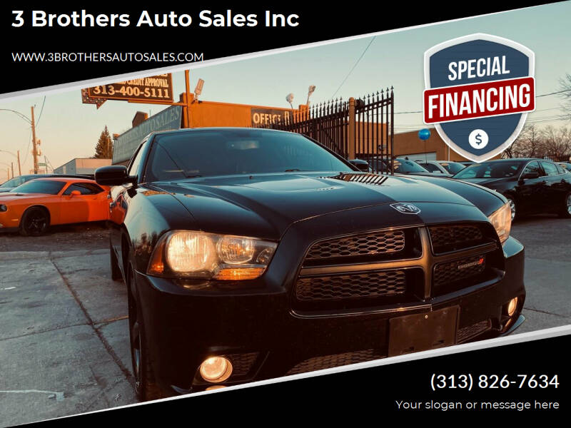 2014 Dodge Charger for sale at 3 Brothers Auto Sales Inc in Detroit MI