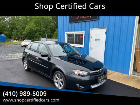 2010 Subaru Impreza for sale at Shop Certified Cars in Easton MD
