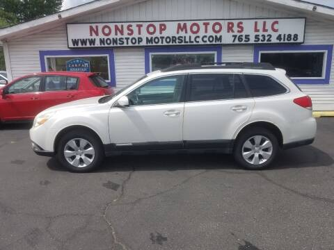 2010 Subaru Outback for sale at Nonstop Motors in Indianapolis IN