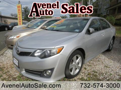 2014 Toyota Camry for sale at Avenel Auto Sales in Avenel NJ