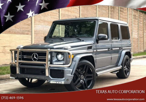 2005 Mercedes-Benz G-Class for sale at Texas Auto Corporation in Houston TX