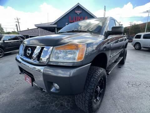 2012 Nissan Titan for sale at LUNA CAR CENTER in San Antonio TX