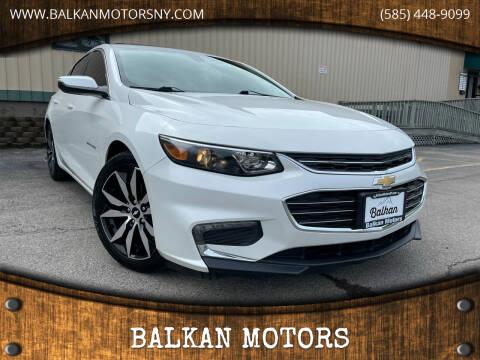 2017 Chevrolet Malibu for sale at BALKAN MOTORS in East Rochester NY