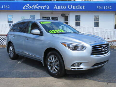 2013 Infiniti JX35 for sale at Colbert's Auto Outlet in Hickory NC