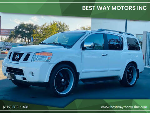 2008 Nissan Armada for sale at BEST WAY MOTORS INC in San Diego CA