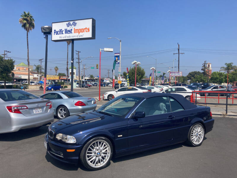 2002 BMW 3 Series for sale at Pacific West Imports in Los Angeles CA