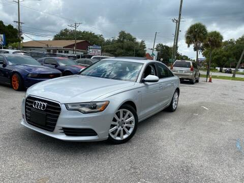 2014 Audi A6 for sale at CHECK  AUTO INC. in Tampa FL