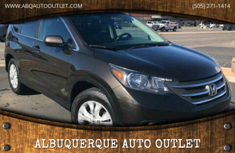 2013 Honda CR-V for sale at ALBUQUERQUE AUTO OUTLET in Albuquerque NM